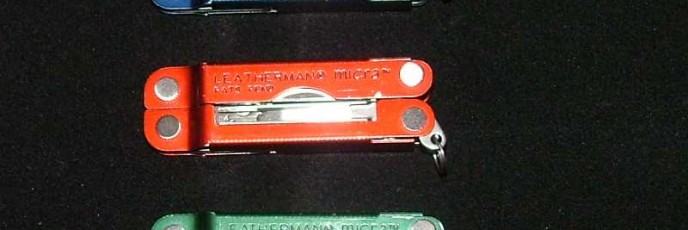 Leatherman Micra - Painted Versions