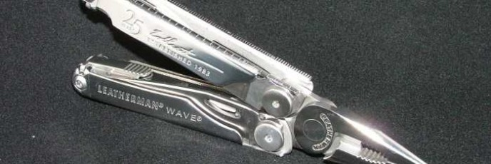 Leatherman Wave 25th Anniversary Model